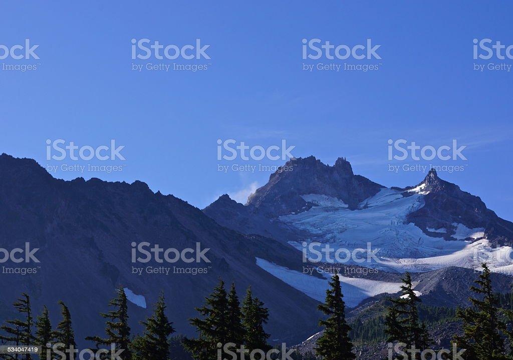 Jefferson Park Glacier stock photo