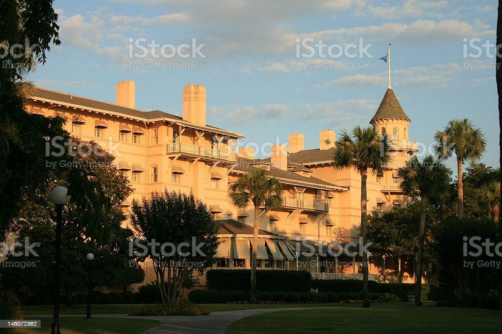 Jekyll Island Club Hotel stock photo