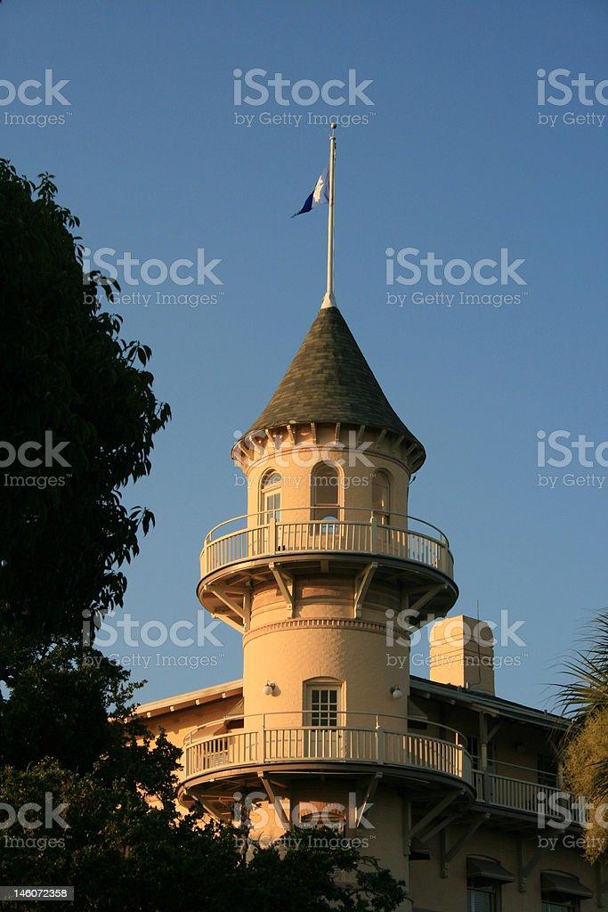 Jekyll Island Hotel Tower stock photo