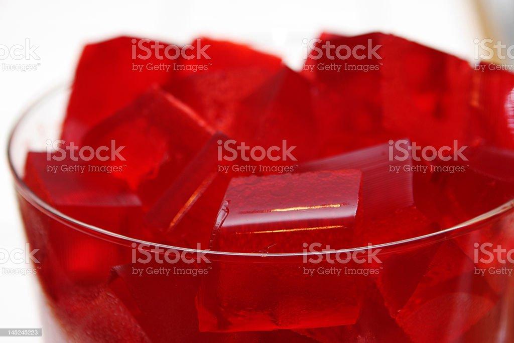 Jello Squares royalty-free stock photo