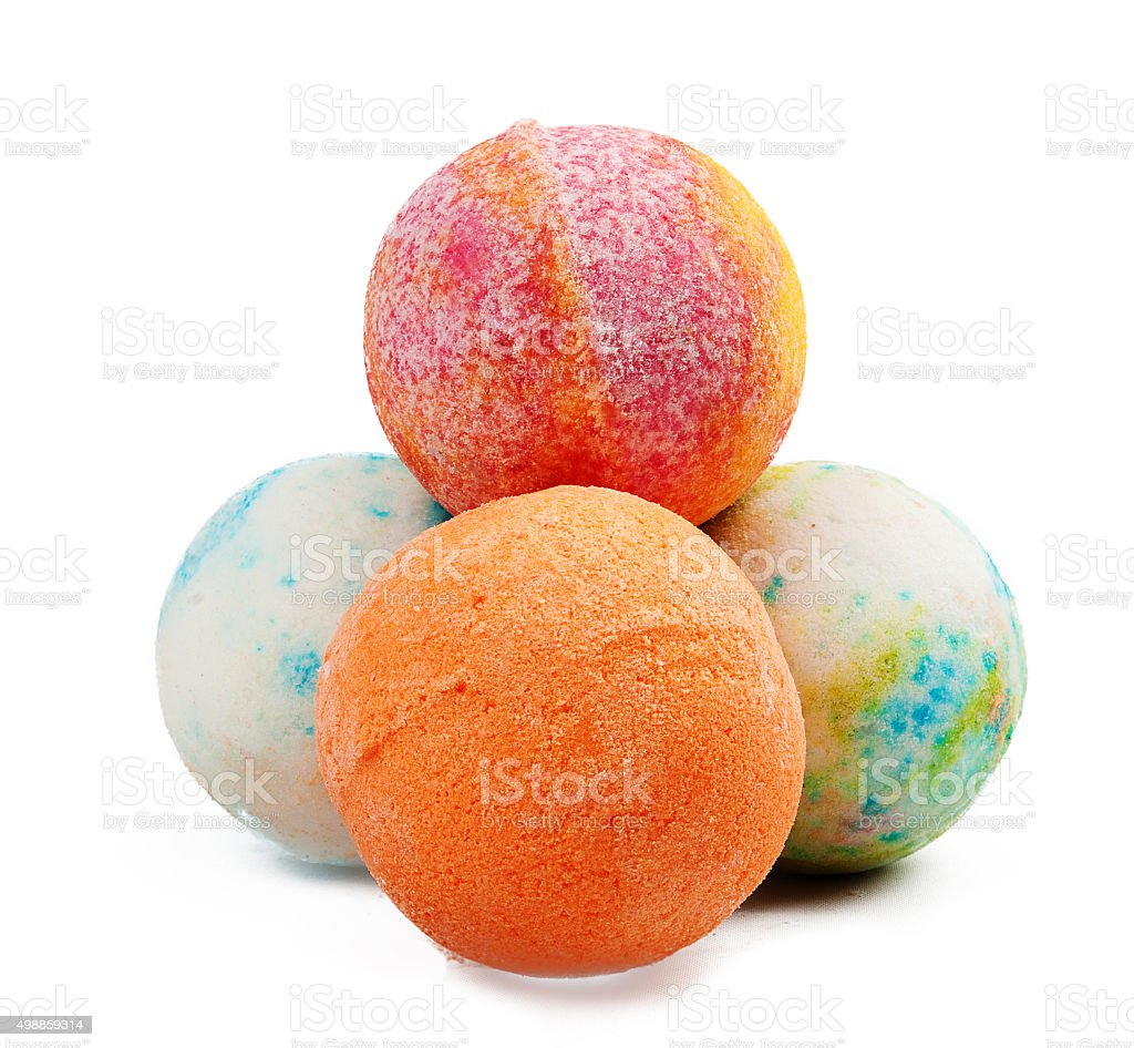 Jelly balls stock photo