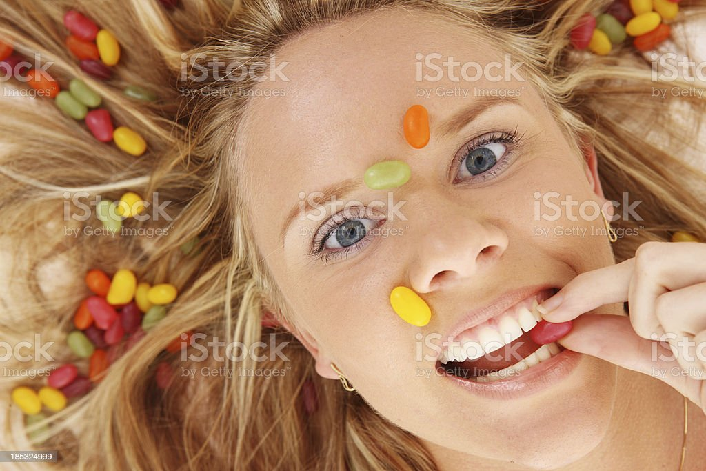 Jelly Bean Fun stock photo