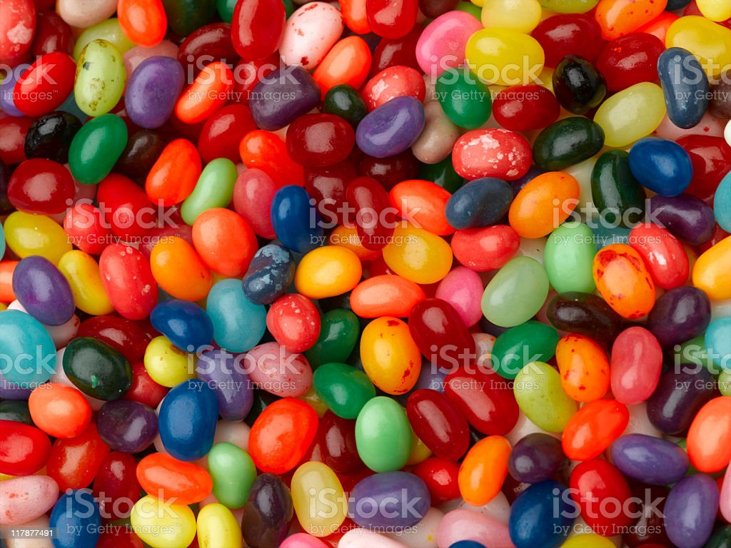 Jelly Beans - Royalty-free Backgrounds Stock Photo