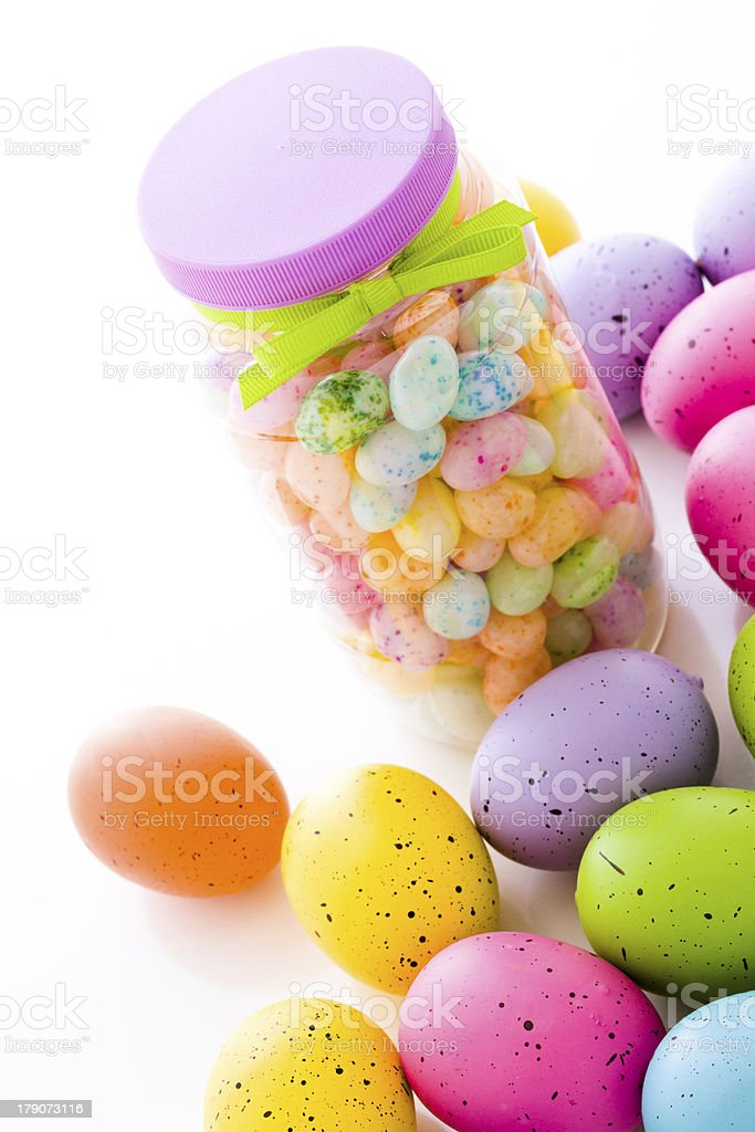 Jelly beans royalty-free stock photo