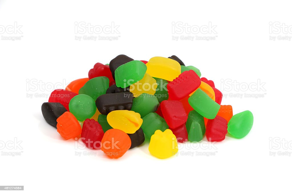 Jelly Fruit Candy stock photo