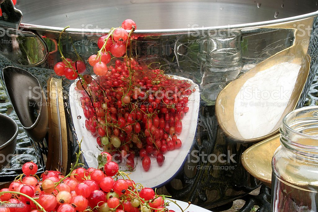 jelly making royalty-free stock photo