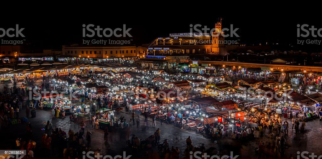 Jemaa el-Fna I stock photo