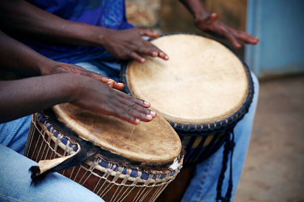 jembe players stock photo