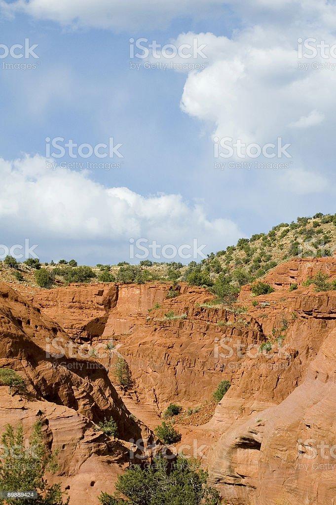 Jemez Mesa (Vertical) royalty-free stock photo
