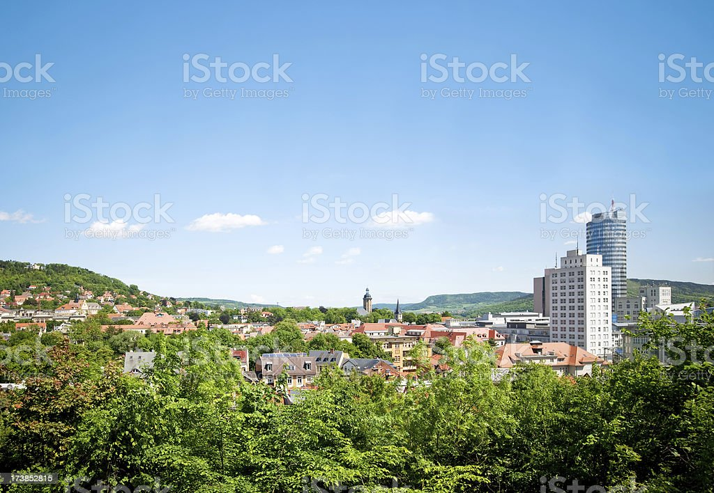 Jena, Germany royalty-free stock photo