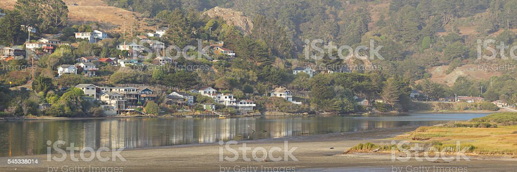 Jenner - Russian River stock photo