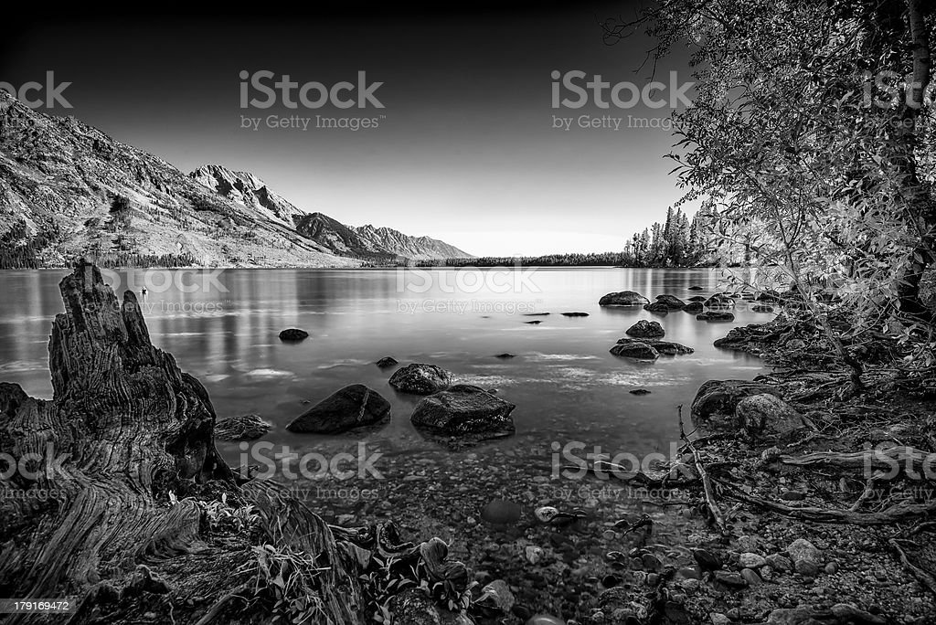 Jenny Lake royalty-free stock photo