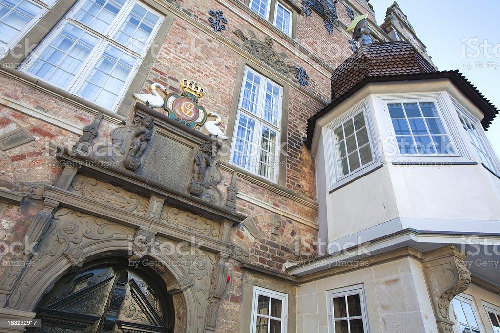 Jens Bangs Stenhus, Aalborg stock photo