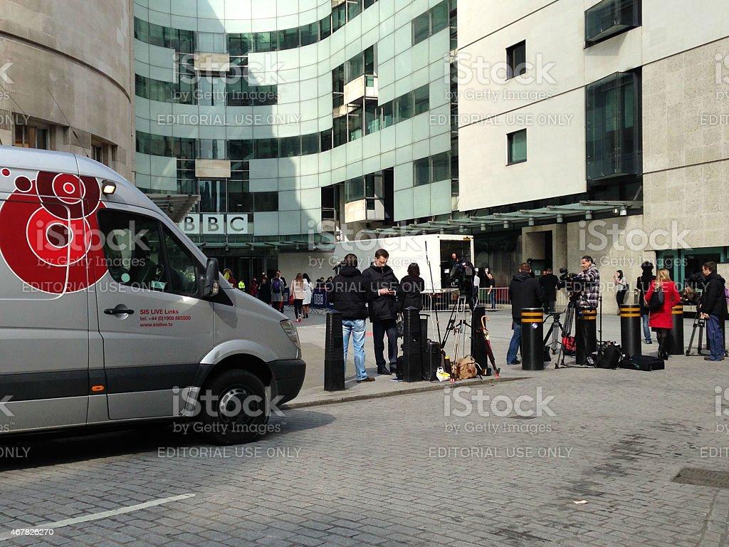 Jeremy Clarkson media coverage stock photo