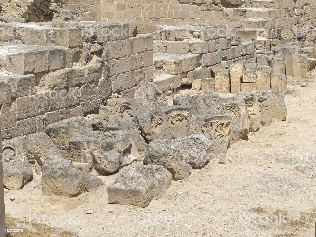 Jericho ancient City royalty-free stock photo