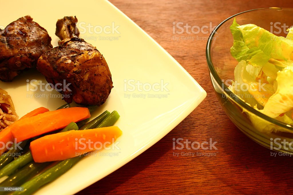 Jerk Chicken stock photo