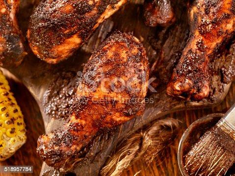 istock Jerk Chicken with Corn 518957784