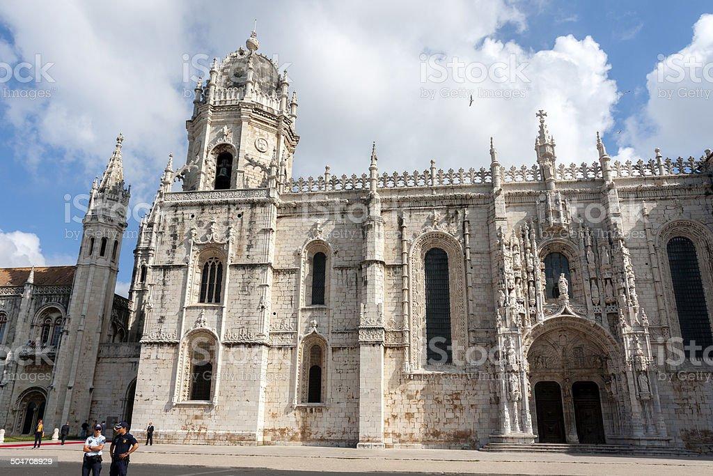 Jerónimos Monastery royalty-free stock photo