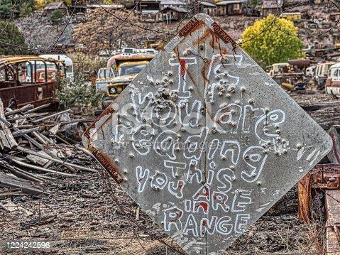 Jerome ghost town, sedona, arizona, usa - image