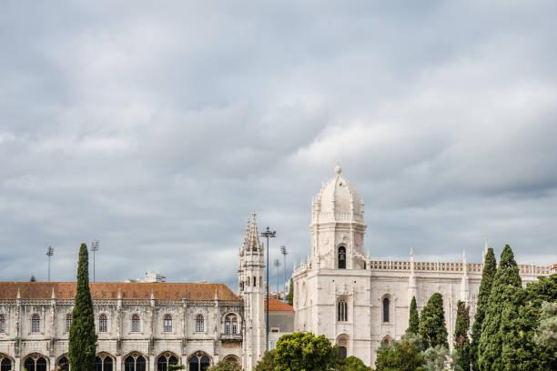 Jeronimos Monastery , Lisbon stock photo