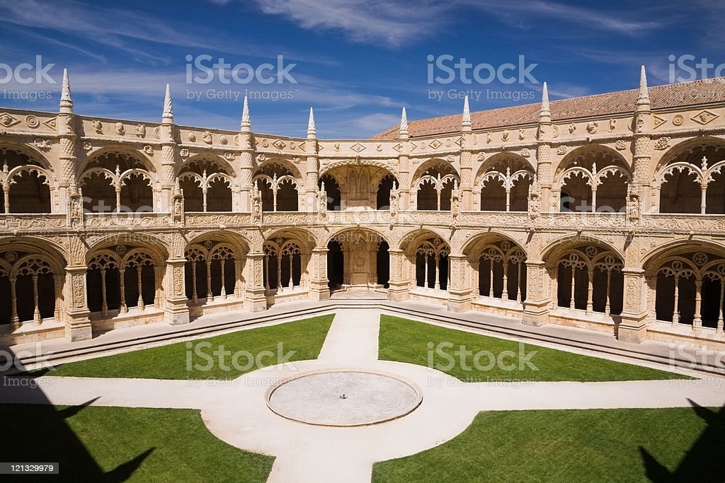 Jeronimos Monastery, Lisbon, Portugal stock photo