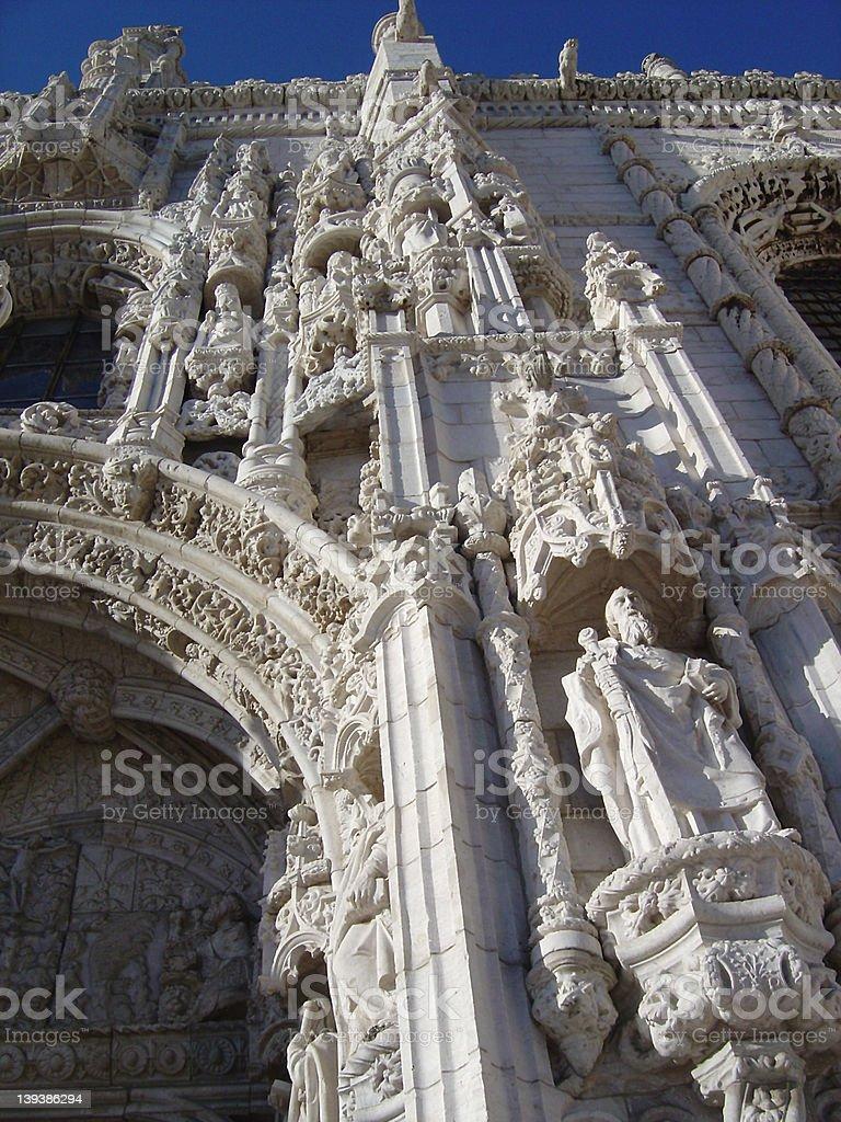 jeronimos monastery3 royalty-free stock photo