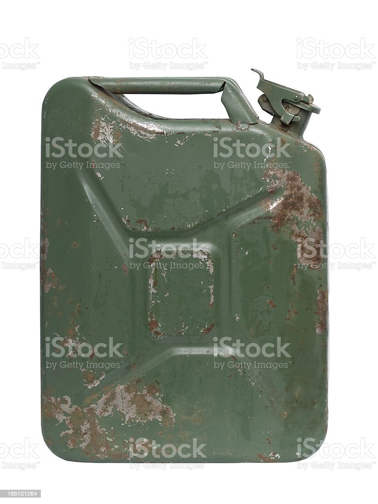 Jerrycan stock photo