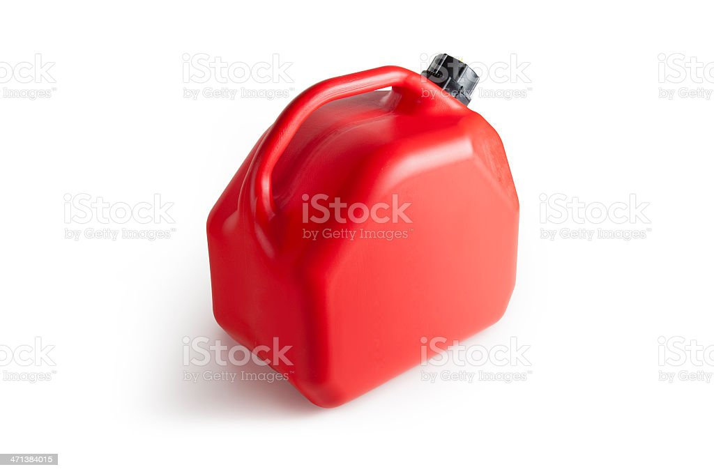 Jerrycan Mit clipping path – Foto