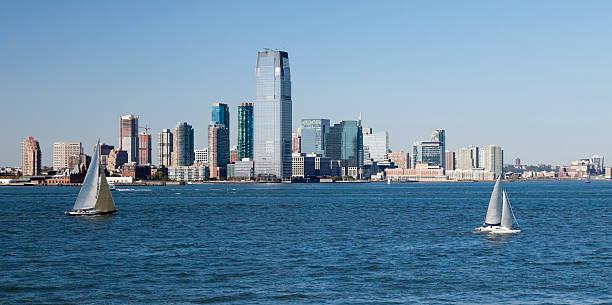 Jersey City panorama stock photo