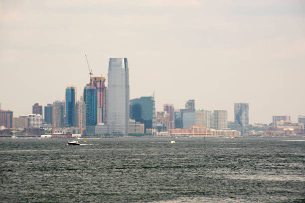 Jersey City Waterfront stock photo