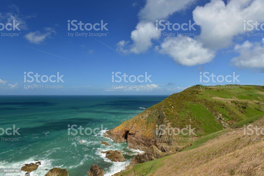 Jersey North-coast, U.K. stock photo