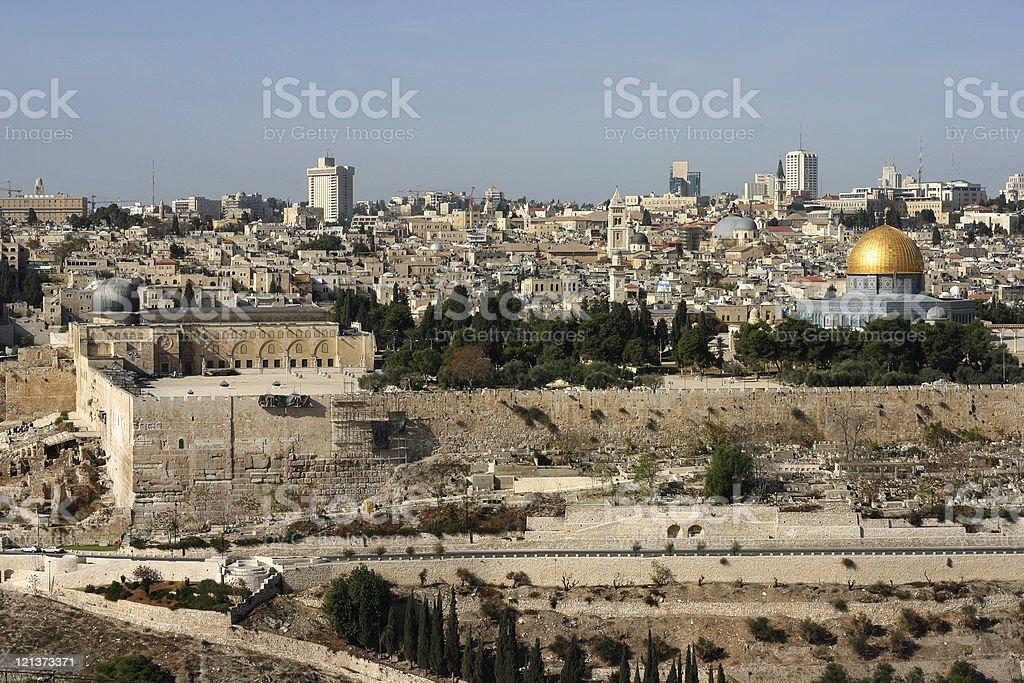 Jerusalem Al Aqsa royalty-free stock photo