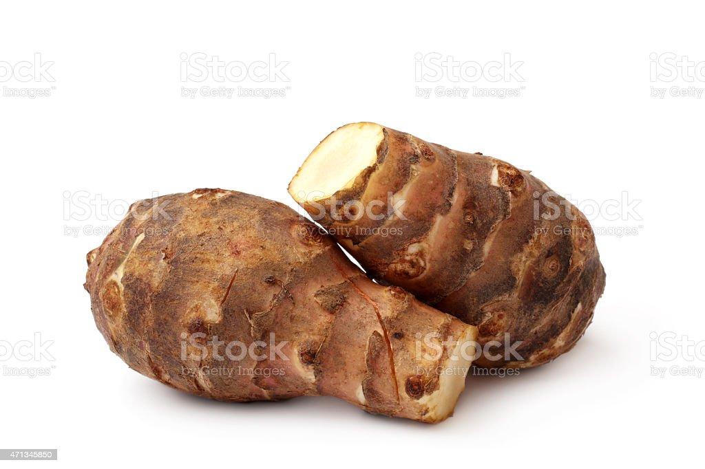 Jerusalem artichoke stock photo