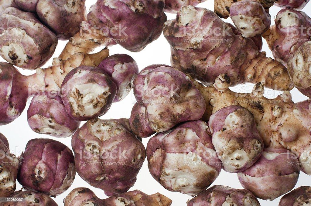 Jerusalem artichoke- stock image stock photo