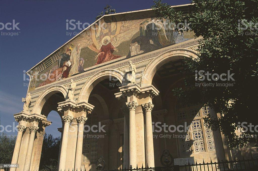 Jerusalem - Church of All Nations stock photo