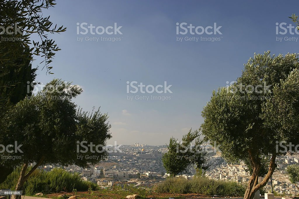 Jerusalem Cityscape royalty-free stock photo