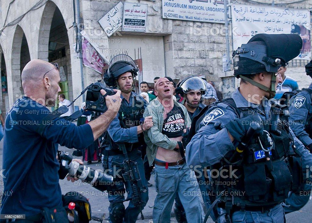 Jerusalem day stock photo