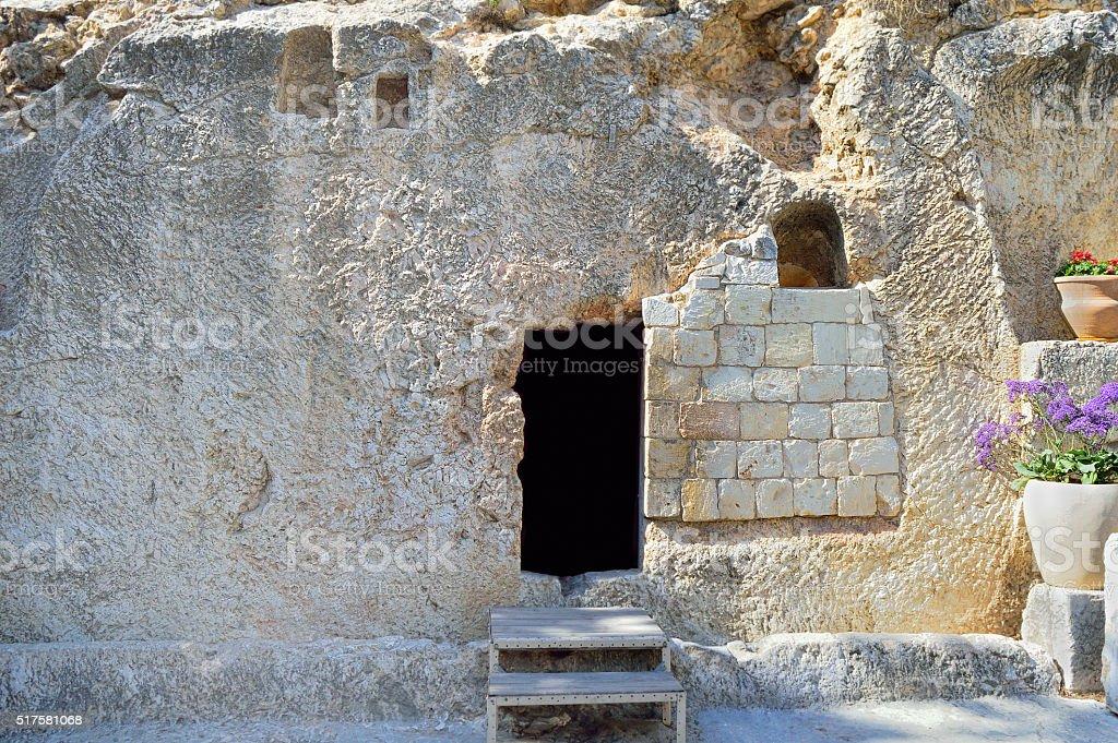 Jerusalem Garden Tomb stock photo