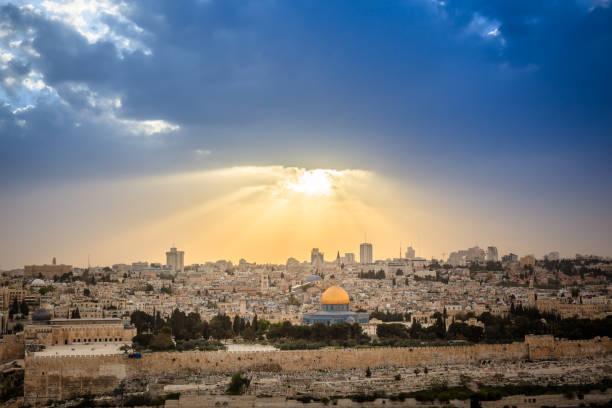 Jerusalem, Israel, Historisches Palästina, Jerusalem Altstadt, Kuppel des Felsens – Foto