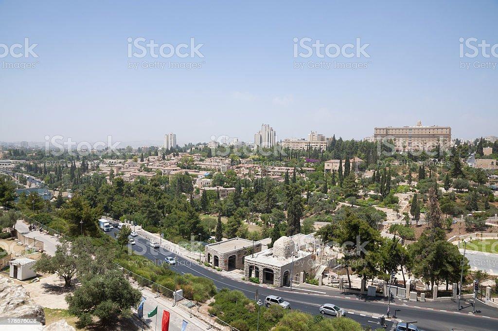 Jerusalem new city royalty-free stock photo