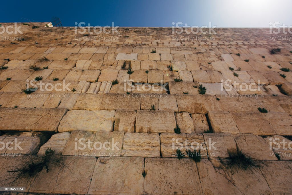 Jerusalem Old City And Western Wall Stock Photo & More