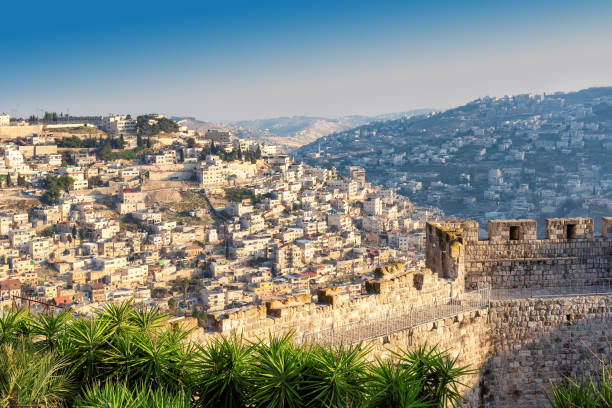 Jerusalem old city. Israel stock photo