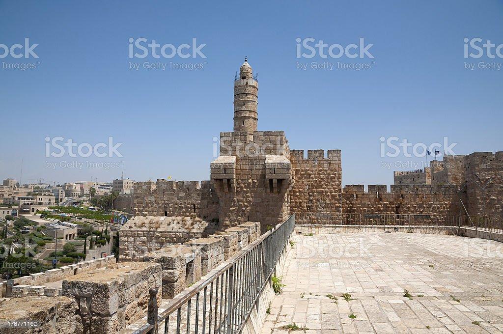 Jerusalem old city stock photo