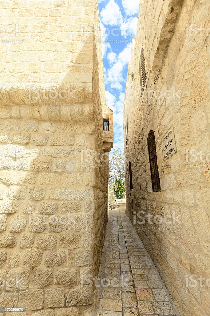 Jerusalem, Old Town stock photo