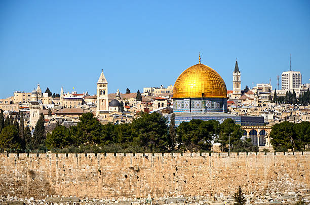 Jerusalem Jerusalem skyline dome of the rock stock pictures, royalty-free photos & images