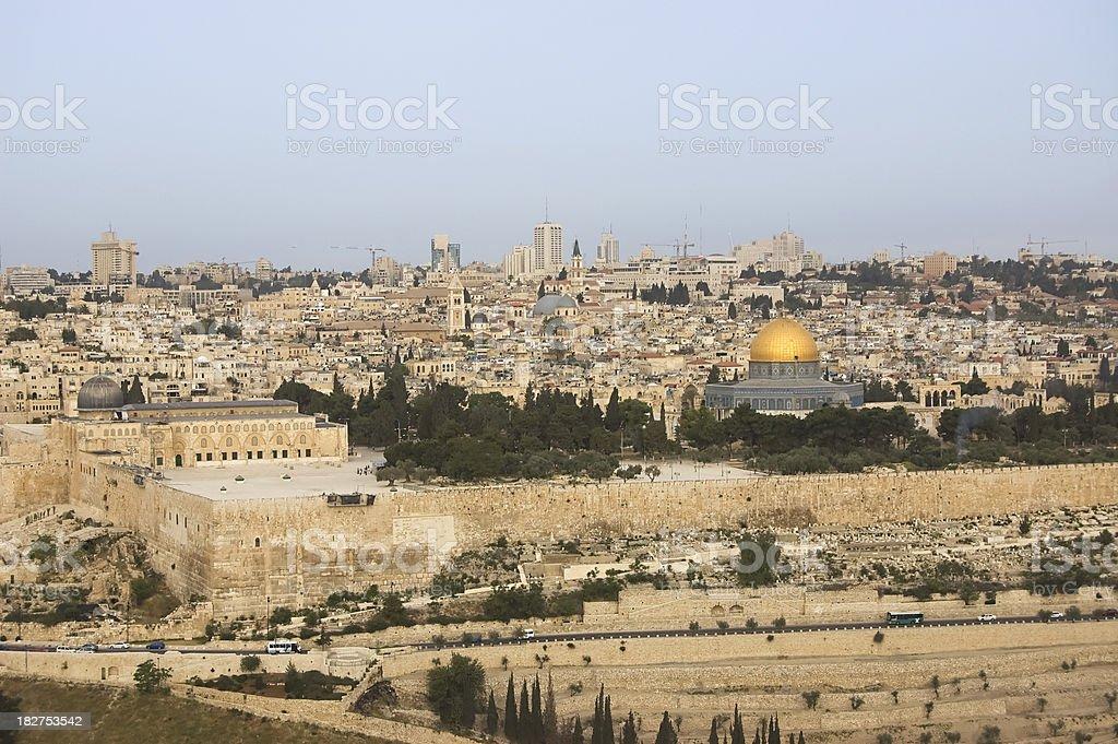 Jerusalem view royalty-free stock photo