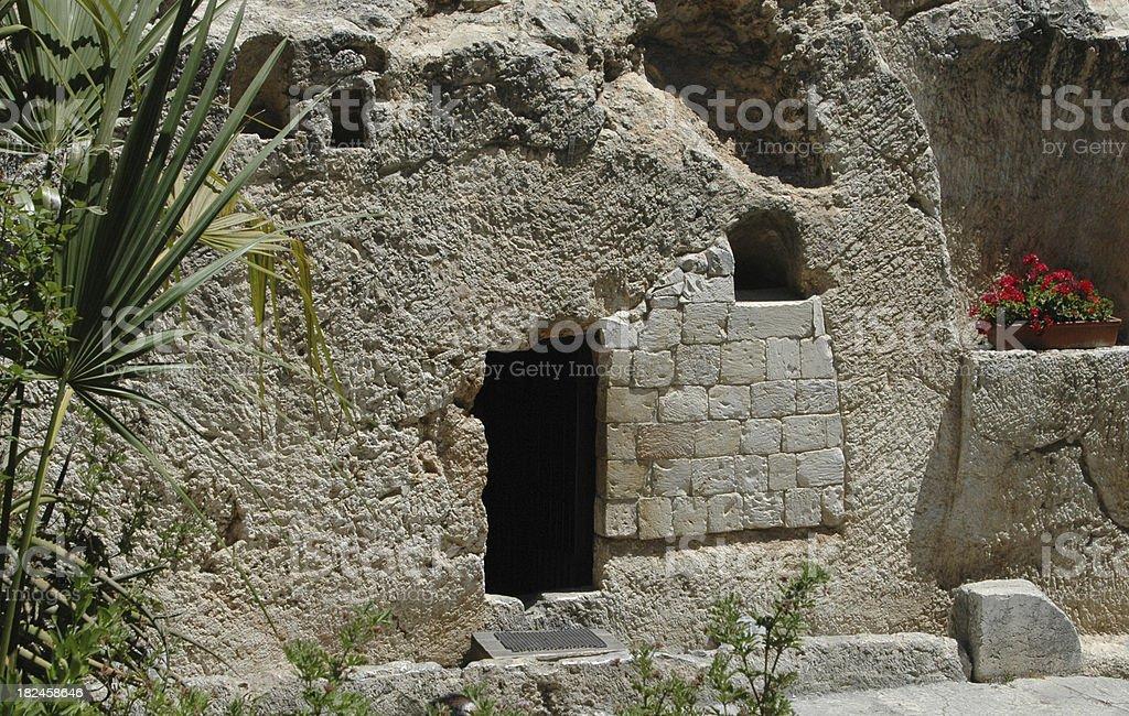 Jerusalem's Jesus Holy Tomb stock photo