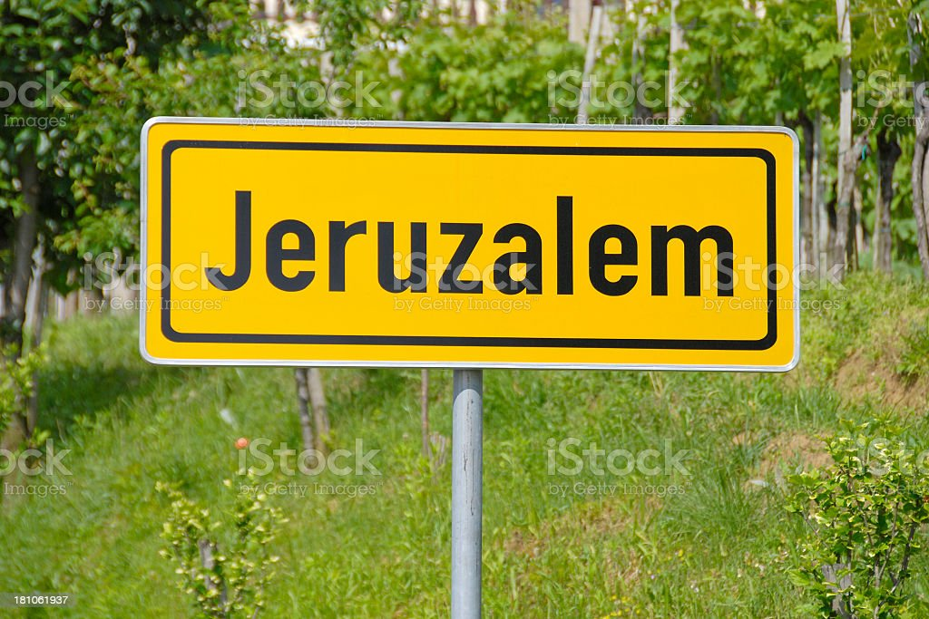 Jeruzalem  in Slovenia royalty-free stock photo