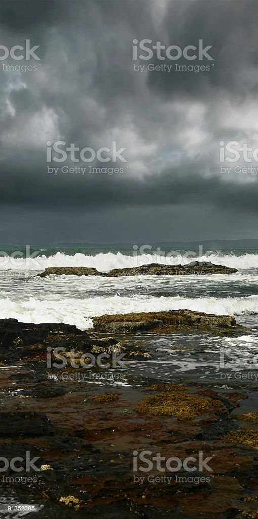 Jervis Bay - Calalla Beach Storm Series, NSW Australia royalty-free stock photo
