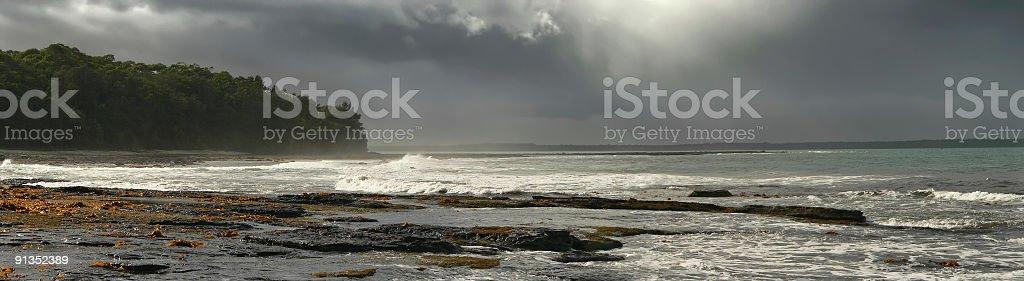Jervis Bay - Calalla Beach Storm Series, NSW Australia royalty-free stock photo